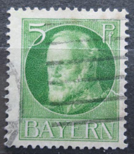Poštovní známka Bavorsko 1916 Král Ludvík III. Mi# 112 A Kat 3.20€