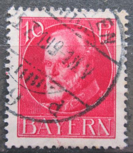 Poštovní známka Bavorsko 1916 Král Ludvík III. Mi# 114 A Kat 3.20€