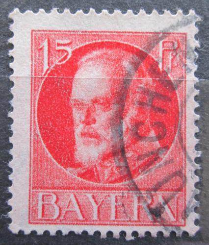 Poštovní známka Bavorsko 1916 Král Ludvík III. Mi# 115 A Kat 3.20€