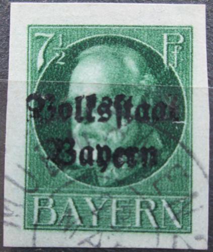 Poštovní známka Bavorsko 1920 Král Ludvík III. pøetisk Mi# 118 II B Kat 24€