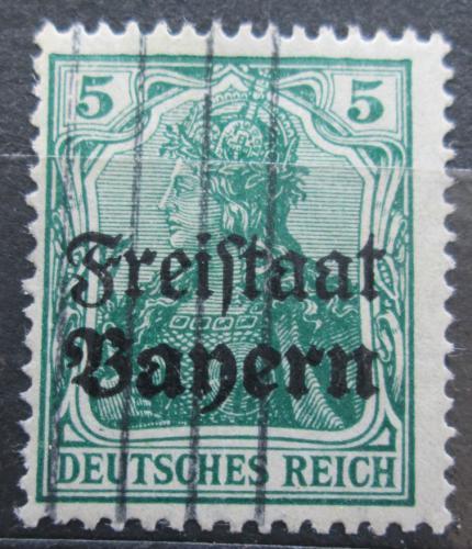Poštovní známka Bavorsko 1919 Germania pøetisk Mi# 138 Kat 3.20€