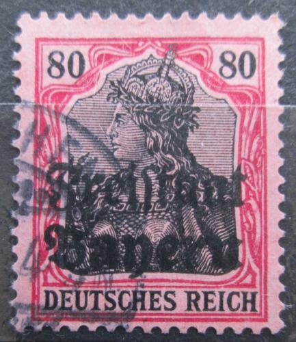 Poštovní známka Bavorsko 1919 Germania pøetisk Mi# 147 Kat 4€