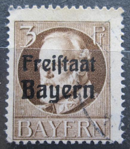Poštovní známka Bavorsko 1919 Král Ludvík III. pøetisk Mi# 152 A Kat 3.20€