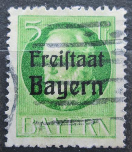 Poštovní známka Bavorsko 1919 Král Ludvík III. pøetisk Mi# 153 A Kat 3.20€