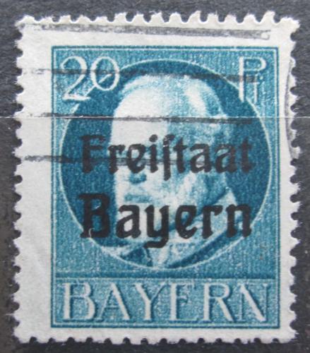 Poštovní známka Bavorsko 1919 Král Ludvík III. pøetisk Mi# 157 A Kat 3.20€