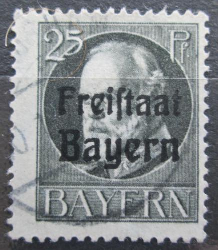 Poštovní známka Bavorsko 1919 Král Ludvík III. pøetisk Mi# 158 A Kat 3.20€