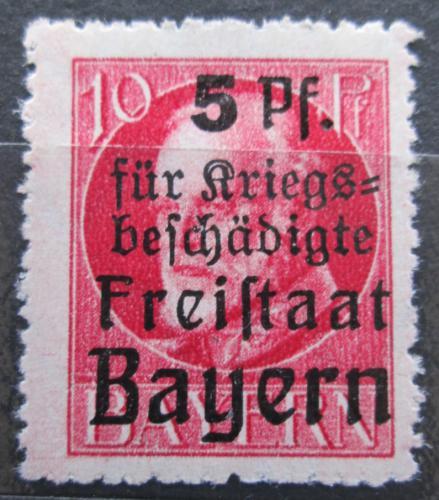 Poštovní známka Bavorsko 1920 Král Ludvík III. pøetisk Mi# 171 A