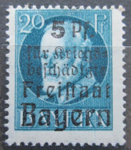 Poštovní známka Bavorsko 1920 Král Ludvík III. pøetisk Mi# 173 A