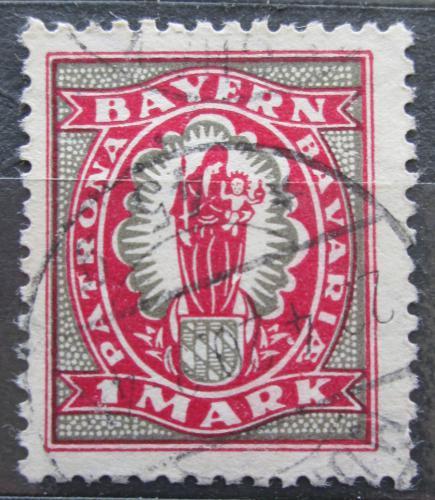 Poštovní známka Bavorsko 1920 Panna Marie Mi# 187 Kat 3.20€