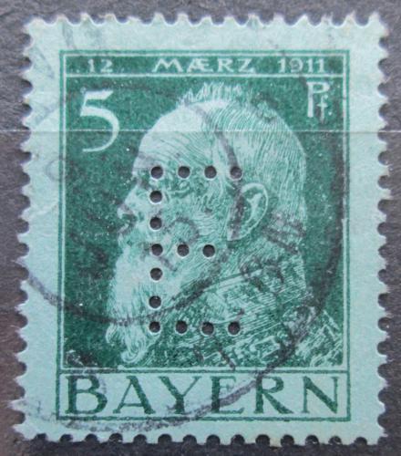 Poštovní známka Bavorsko 1912 Luitpold Bavorský, úøední Mi# 7