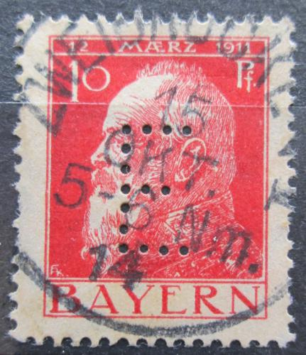 Poštovní známka Bavorsko 1912 Luitpold Bavorský, úøední Mi# 8