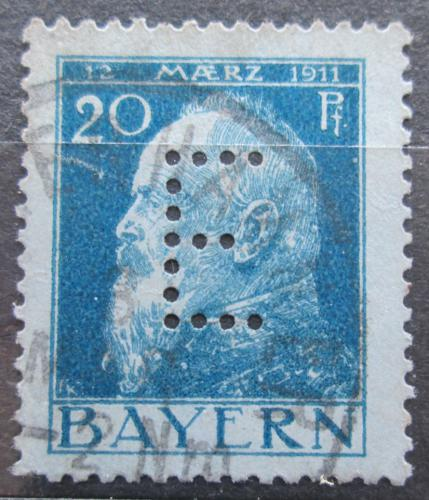 Poštovní známka Bavorsko 1912 Luitpold Bavorský, úøední Mi# 9 II