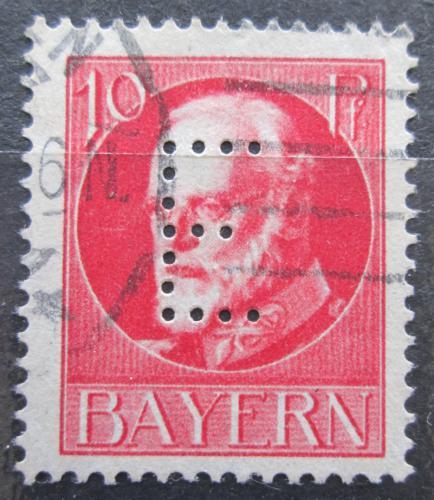 Poštovní známka Bavorsko 1914 Král Ludvík III. , úøední Mi# 14