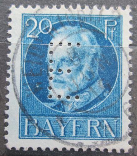 Poštovní známka Bavorsko 1914 Král Ludvík III. , úøední Mi# 15 Kat 6.50€