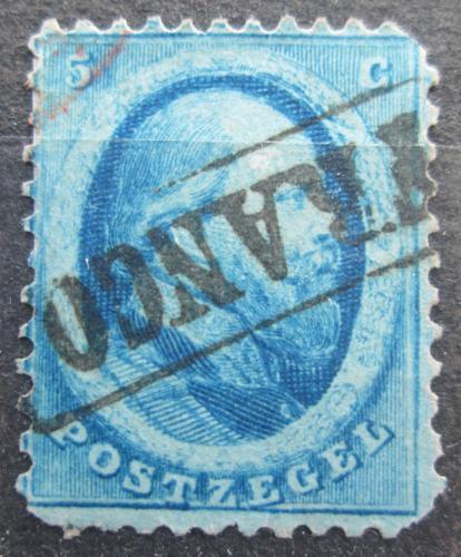 Poštovní známka Nizozemí 1864 Král Vilém III. Nizozemský Mi# 4 Kat 20€