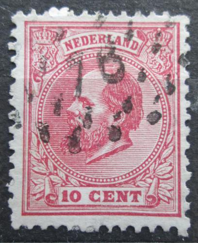 Poštovní známka Nizozemí 1872 Král Vilém III. Nizozemský Mi# 21 D