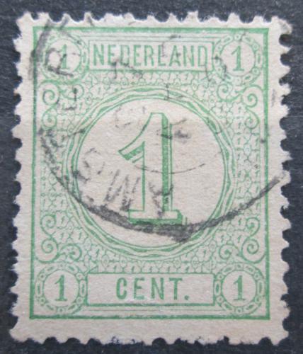 Poštovní známka Nizozemí 1876 Nominální hodnota Mi# 31 aD