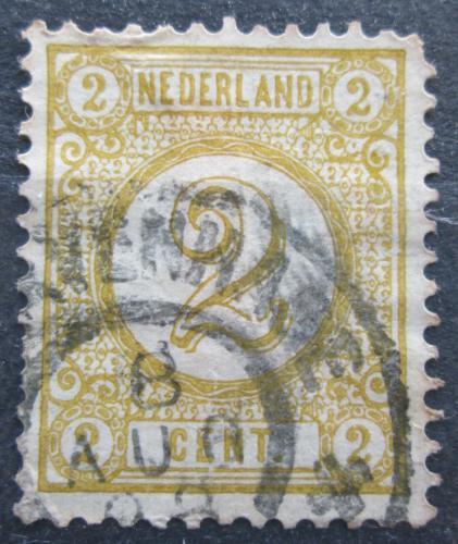Poštovní známka Nizozemí 1876 Nominální hodnota Mi# 32 aD