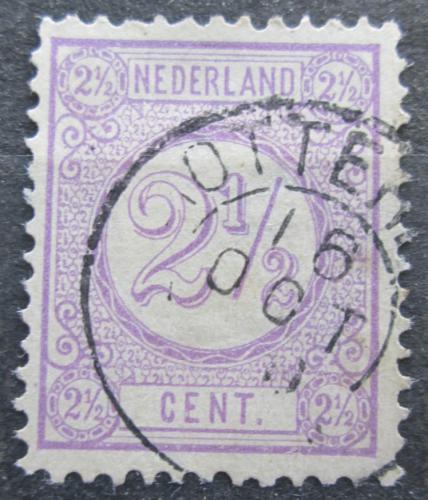 Poštovní známka Nizozemí 1876 Nominální hodnota Mi# 33 aD