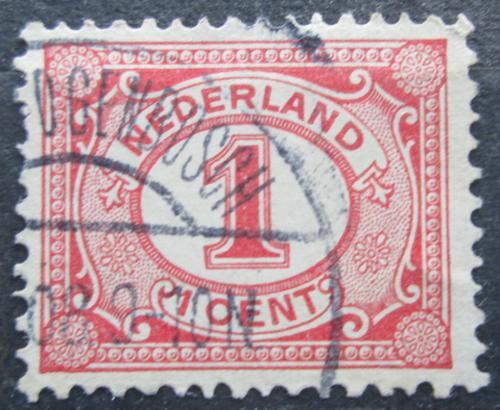 Poštovní známka Nizozemí 1899 Nominální hodnota Mi# 50