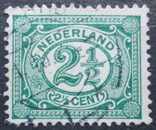 Poštovní známka Nizozemí 1899 Nominální hodnota Mi# 52