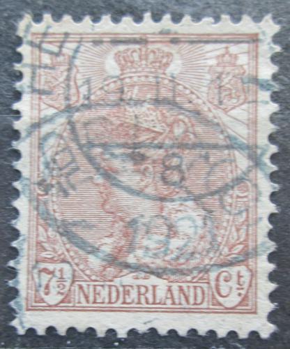 Poštovní známka Nizozemí 1899 Královna Wilhelmina Mi# 55 A
