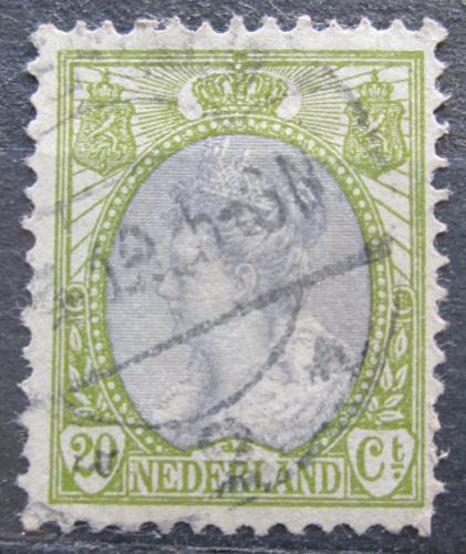 Poštovní známka Nizozemí 1908 Královna Wilhelmina Mi# 79 A
