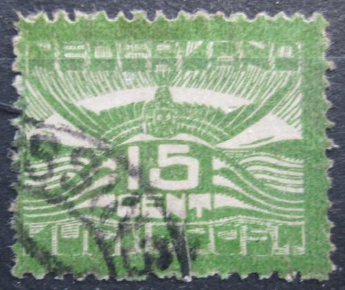 Poštovní známka Nizozemí 1921 Racek v letu Mi# 103