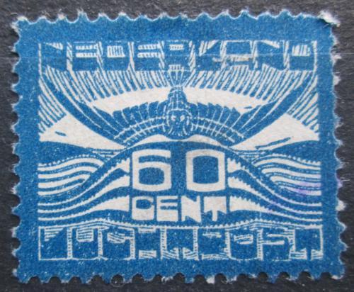 Poštovní známka Nizozemí 1921 Racek v letu Mi# 104