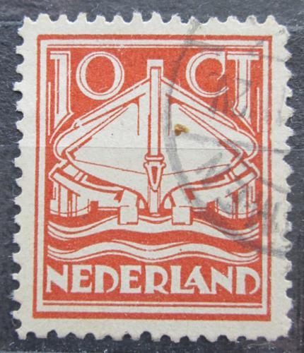 Poštovní známka Nizozemí 1924 Záchranáøská loï Mi# 142