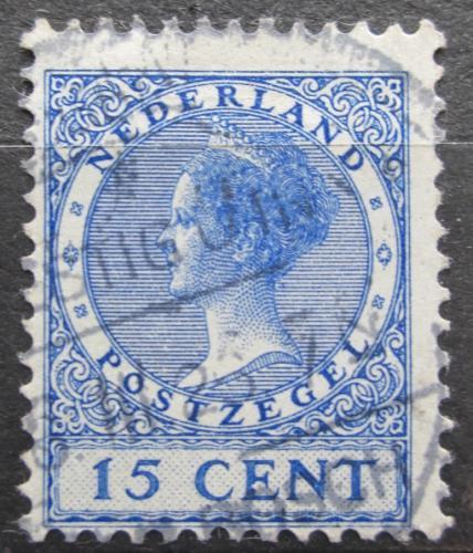 Poštovní známka Nizozemí 1924 Královna Wilhelmina Mi# 156 A