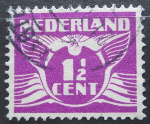 Poštovní známka Nizozemí 1926 Letící holub Mi# 173 A
