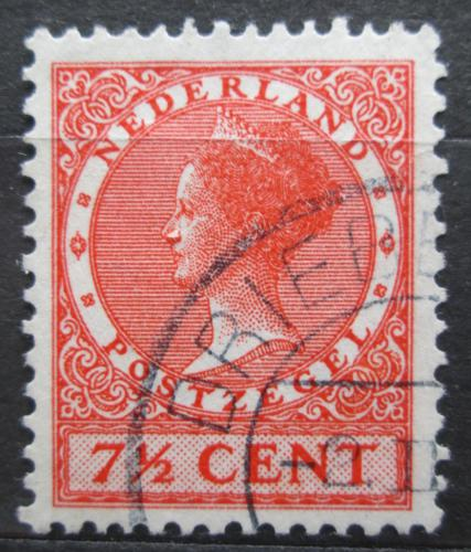 Poštovní známka Nizozemí 1934 Královna Wilhelmina Mi# 215 E