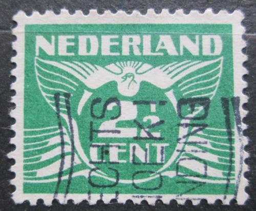 Poštovní známka Nizozemí 1934 Alegorie Letící holub Mi# 175 Ea