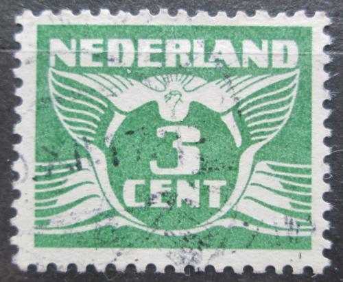 Poštovní známka Nizozemí 1934 Alegorie Letící holub Mi# 176 E