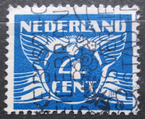 Poštovní známka Nizozemí 1934 Alegorie Letící holub Mi# 177 E