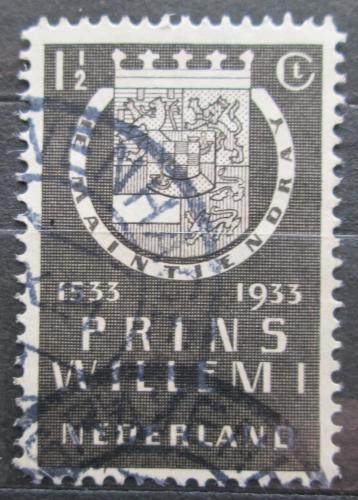 Poštovní známka Nizozemí 1933 Erb Viléma I. Oranžského Mi# 257