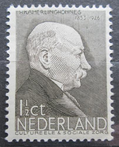 Poštovní známka Nizozemí 1936 Heike Kamerlingh-Onnes, fyzik Mi# 291