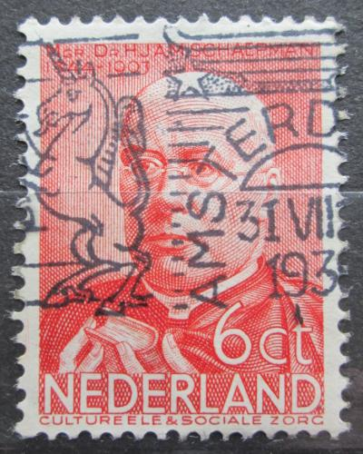Poštovní známka Nizozemí 1936 Herman Schaepman Mi# 293