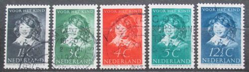 Poštovní známky Nizozemí 1937 Umìní, Frans Hals Mi# 308-12