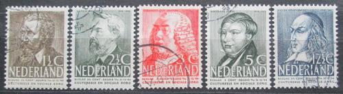 Poštovní známky Nizozemí 1939 Osobnosti Mi# 327-31