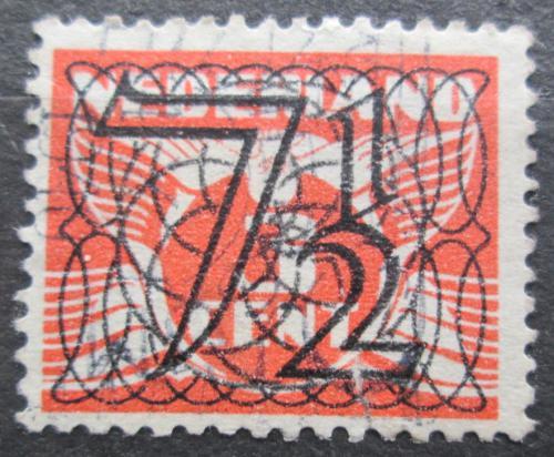 Poštovní známka Nizozemí 1940 Alegorie Letící holub pøetisk Mi# 359