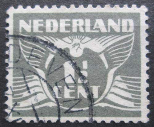 Poštovní známka Nizozemí 1935 Alegorie Letící holub Mi# 281