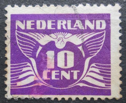 Poštovní známka Nizozemí 1941 Alegorie Letící holub Mi# 382