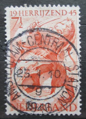 Poštovní známka Nizozemí 1945 Konec obsazení Nìmeckem Mi# 443