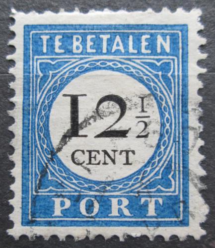 Poštovní známka Nizozemí 1894 Doplatní Mi# 23 I