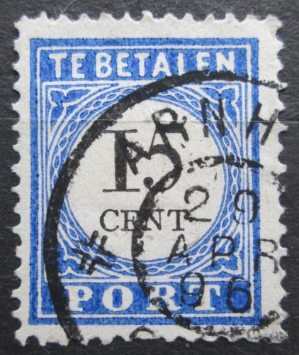 Poštovní známka Nizozemí 1894 Doplatní Mi# 24 I