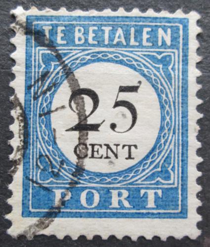 Poštovní známka Nizozemí 1894 Doplatní Mi# 26 I