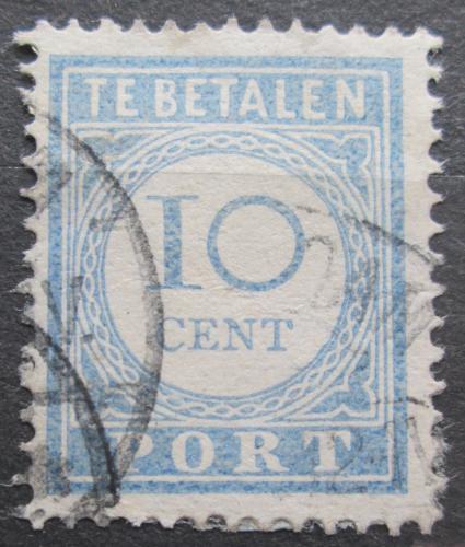 Poštovní známka Nizozemí 1912 Doplatní Mi# 52 A