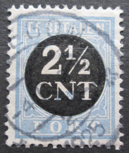 Poštovní známka Nizozemí 1923 Doplatní Mi# 62 a